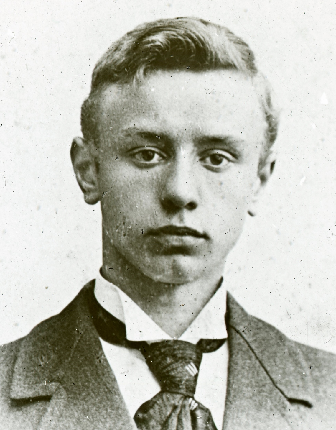 17. jeugdportre v.d. rector.