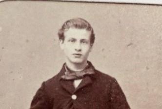 Abraham Mikkers. 16 jaar oud.