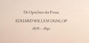 Eduard Willem Dunlop. naam