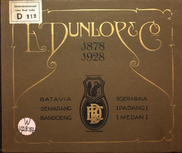 herdenkingsboek Dunlop en Co