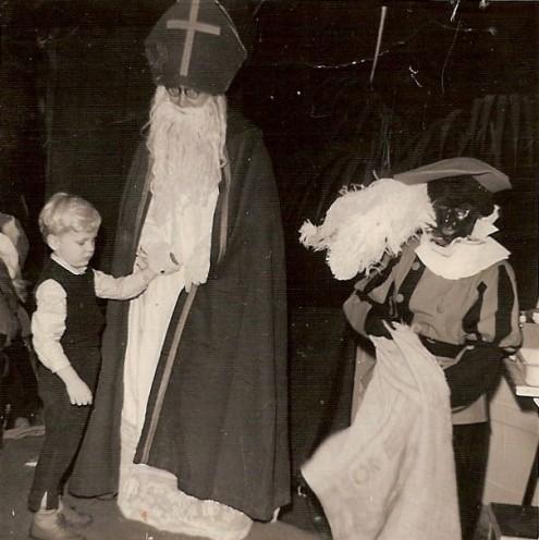 Guus en Sinterklaas (mijn vader)