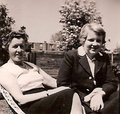 Tante Willy en Caroline