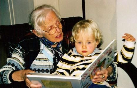 Mijn moeder, Auk, met Eelco