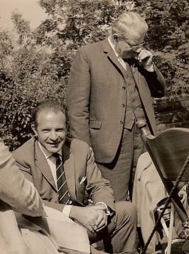 Mijn vader en oom Eelco