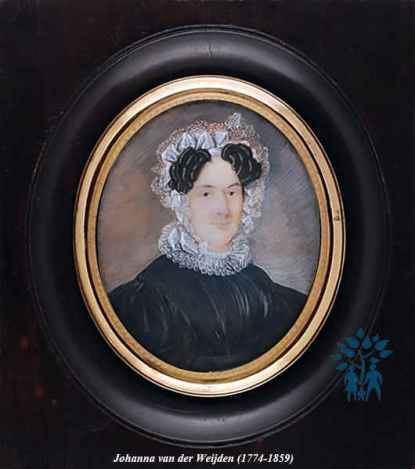 Johanna van der Wijden.Moeder Samuel jr.