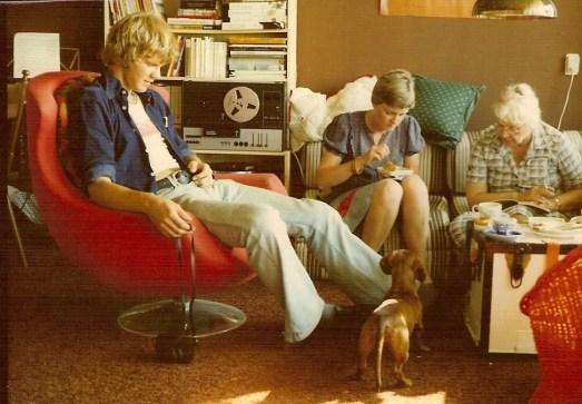 Guus, Heldine en mijn moeder., Auk. én Walter.