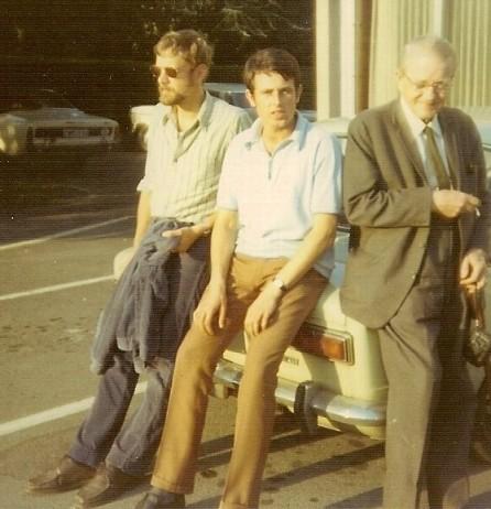 Sam, Ricky, mijn vader.