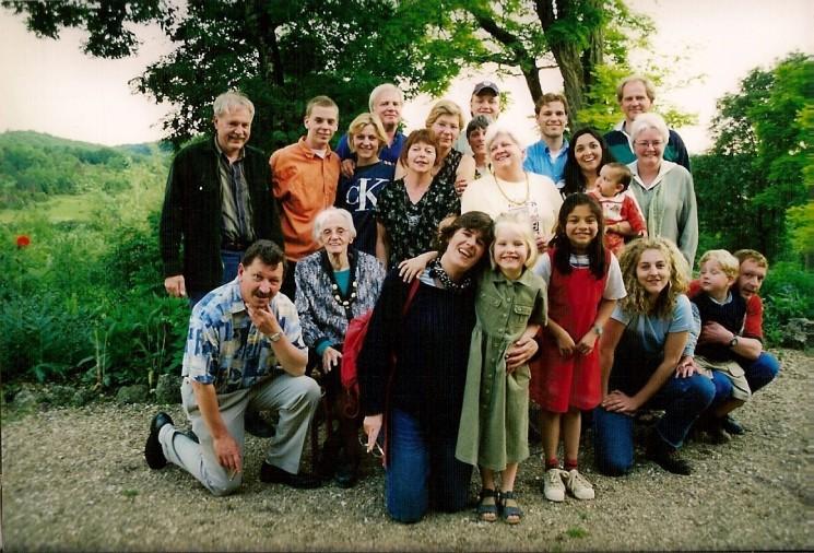 familiefoto in Frankrijk.