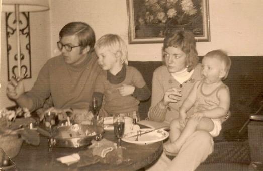 Dick, Marleen, Heldine en Martijn