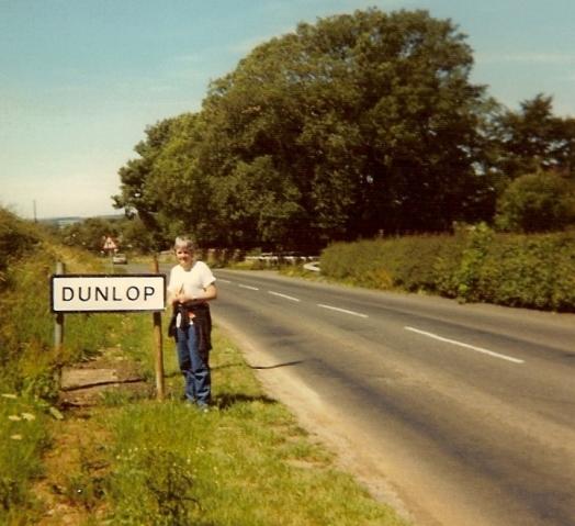 Heldine in Dunlop. Schotland