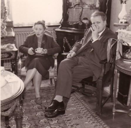 Els Dunlop en Sam Dunlop, mijn vader