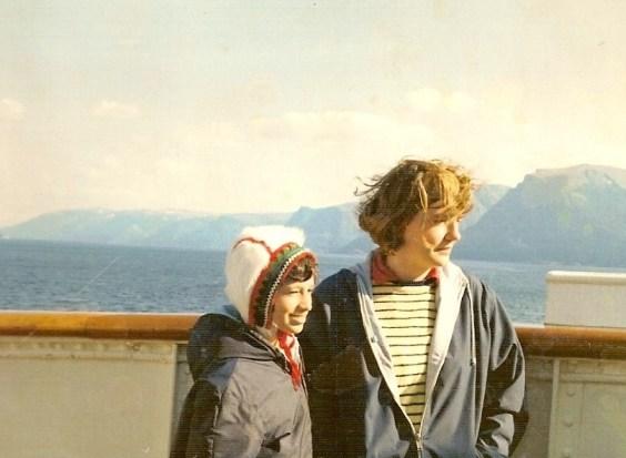 cruise naar Noorwegen.
