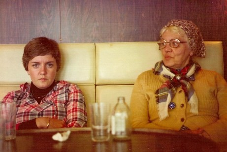Heldine en mijn moeder, Auk.