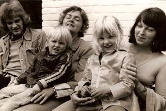 Guus, Heldine, Martijn, Marleen en Marjon.