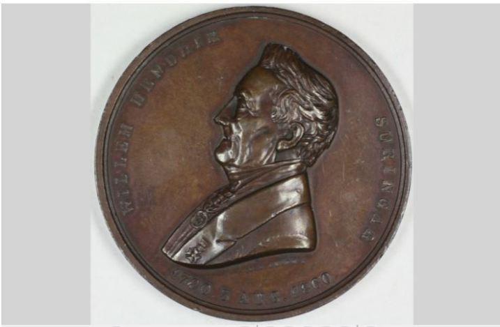 Gedenkpenning Willem Hendrik
