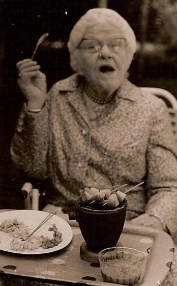 Helena Buurman van Vreeden. Oma Dunlop