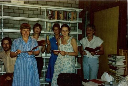 feestje op de afdeling filialen Lindenberg