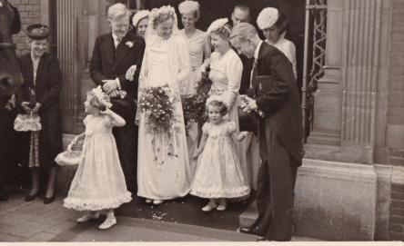 Huwelijk van mijn vader en moeder