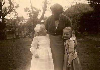 Caroline, tante Willy en Heldine