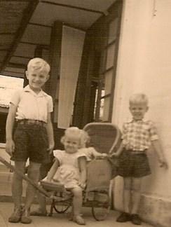 Sam, Caroline en Bram