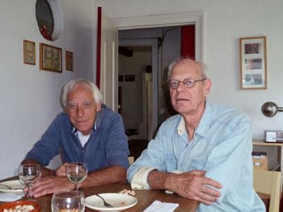 Oene en Willem Reindersma (neven)