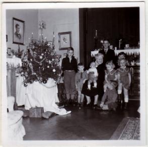 Kerstmis ca. 1953