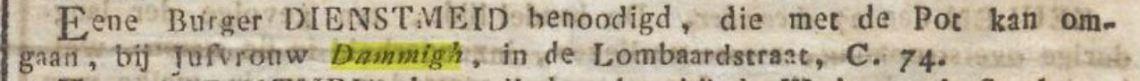 4. 1834 04-01 Middelburgsche courant. dammigh