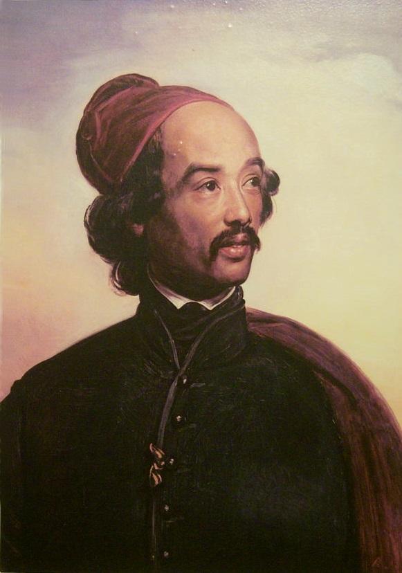 Portrait_of_Raden_Saleh.By Carl Christian Vogel von Vogelstein