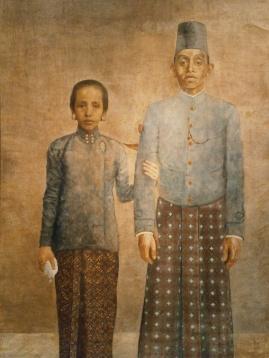 Javaanse edelman en zijn vrouw.