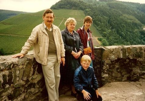 Caroline, Govert, Steven en Marieke