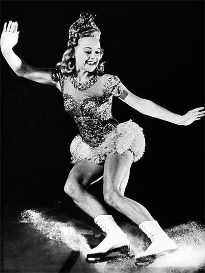 Sonja Henie. Goud Kunstrijden op de schaats.