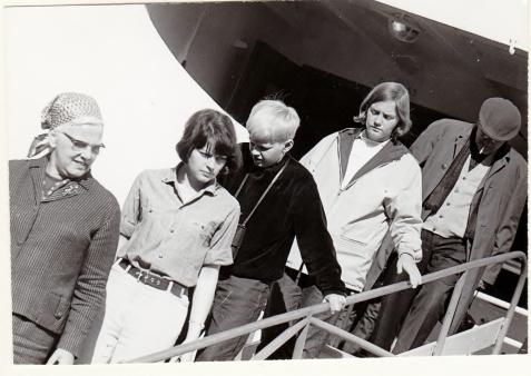 Mijn moeder, Marjon, Guus, Heldine en mijn vader