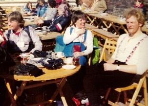 Wintersport. Heldine en Guus